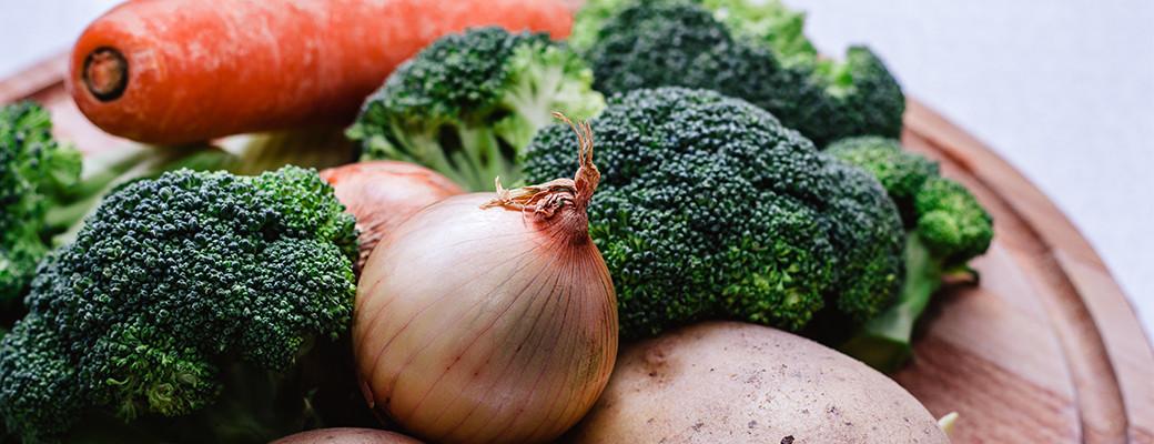 groente voor in de soep